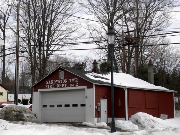 the Sandyston Twp Fire Dept located in the small town of Layton