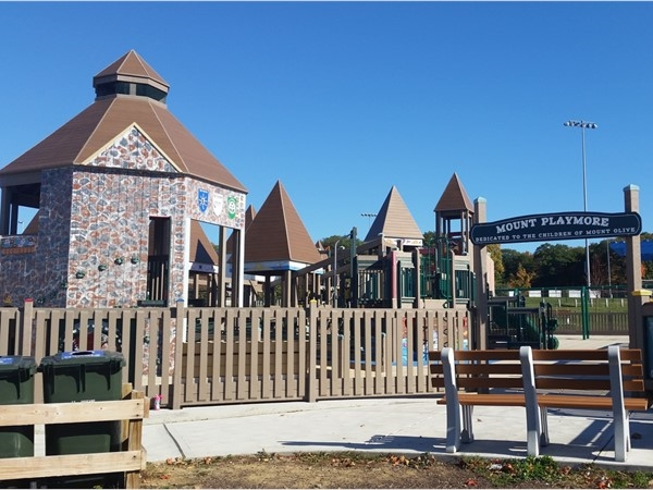 The nearby Mount Playmore playground in Mount Olive