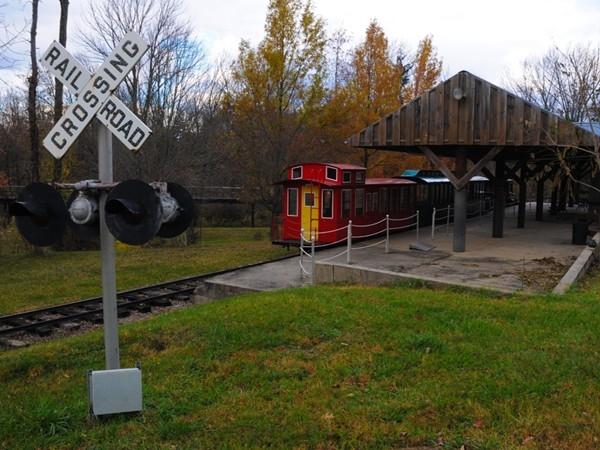 Classic trains at Northlandz
