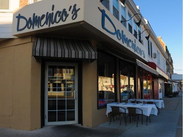 Domenico's  is a great Italian restaurant in Ventnor