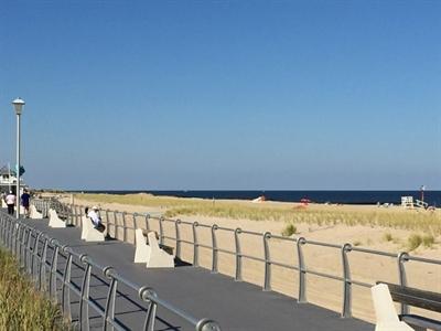 Sea Girt Boardwalk And Beach