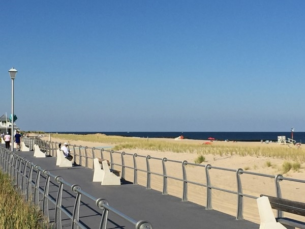Sea Girt Boardwalk And Beach