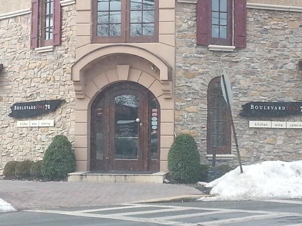 Restaurant Boulevard Five72