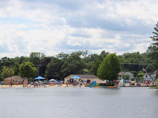 Horseshoe Lake in Succasunna is a great place to relax and cool off on hot summer days