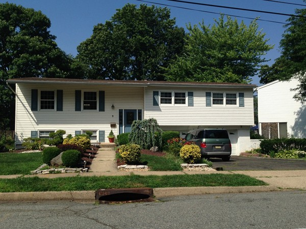 Charming bi-level home with professionally landscaped yard in The Heights of Edison