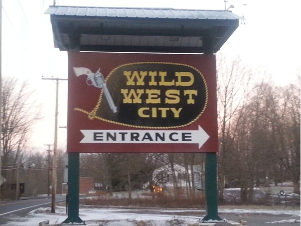 Wild West City, Byram Twp, NJ.  Cowboy fun for the family.  Shows, stunts and excitement!