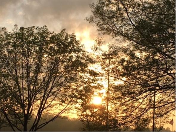 Lovely sunset over Manalapan