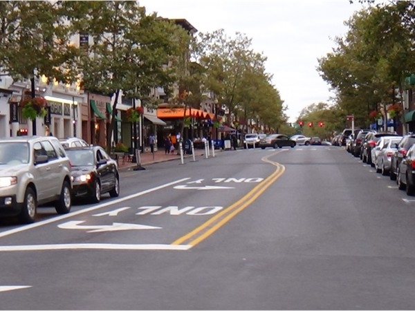 Broad Street in Red Bank