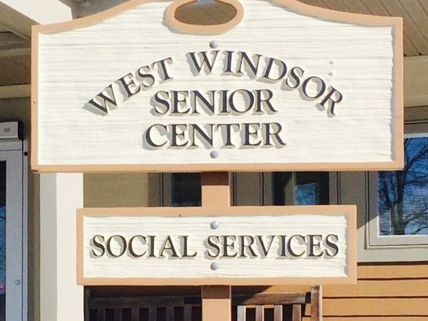 West Windsor has a great senior center to meet fellow residents or take classes with friends.