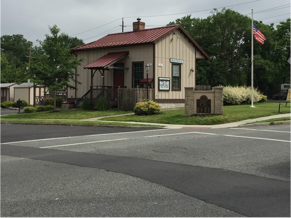 Magnolia's carefully preserved train station