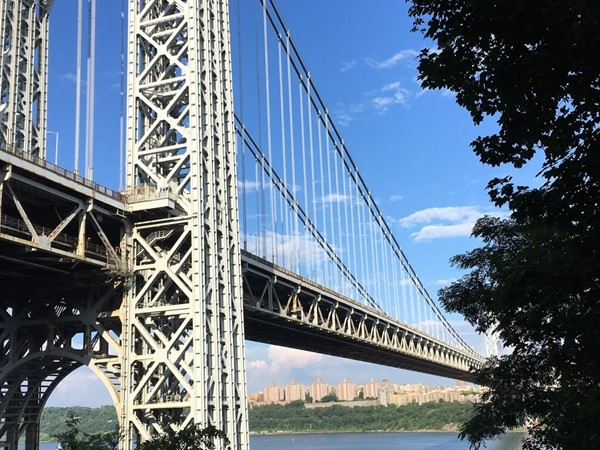 Escape it all along the Hudson! View from Henry Hudson Drive in Fort Lee