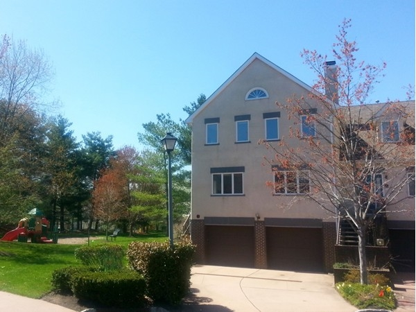 Princeton Greens -- Here's an end  unit townhouse with a full basement and two car garage