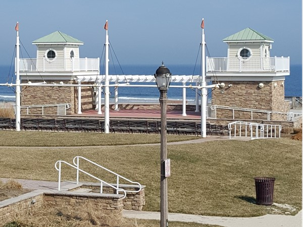 Pier Village Band Stand - Soon it will be filled with summer people!  Can't wait