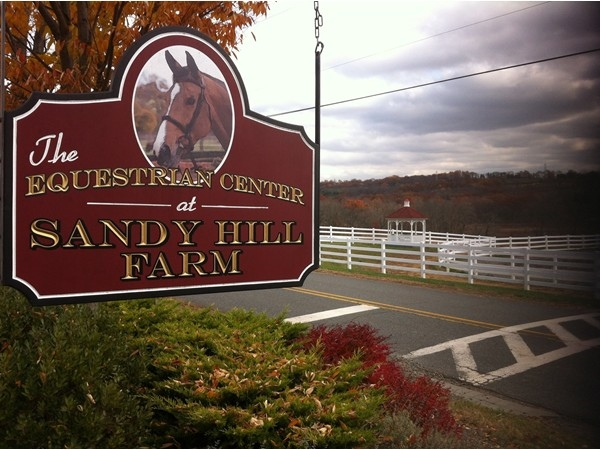 The Equestrian Center at Sandy Hill Farm is a beautiful place to learn and ride.