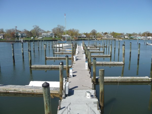 Sea Winds, in North Long Branch, has an on site marina with deep water dockage.