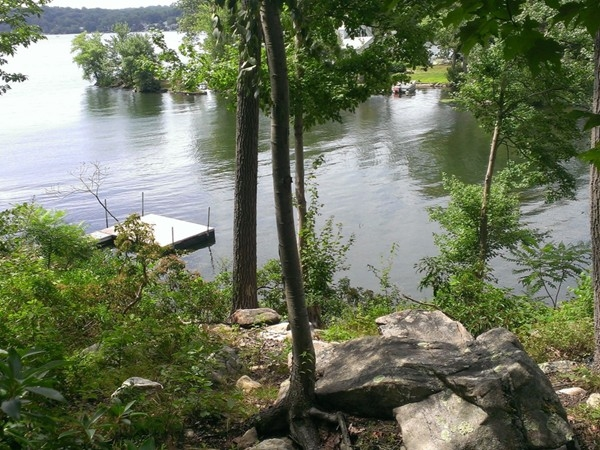 A hidden nook on Lake Hopatcong in the Byram Cove Section of the Lake