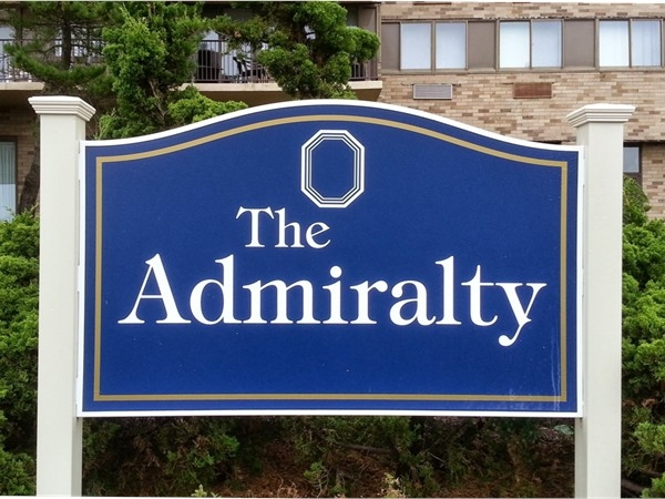The Admiralty is located at 55 Ocean Avenue, right on the beach.