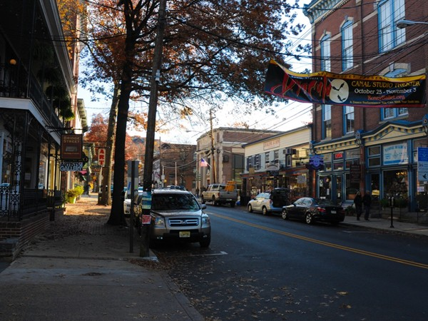 Downtown Lambertville has something for everyone