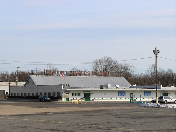 The Berlin Farmers Market is a Berlin/South Jersey landmark that opened in 1940