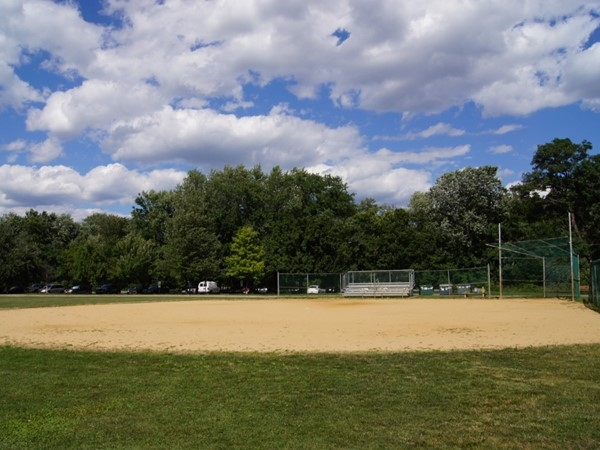 Within Saddle Brook section there are two softball fields