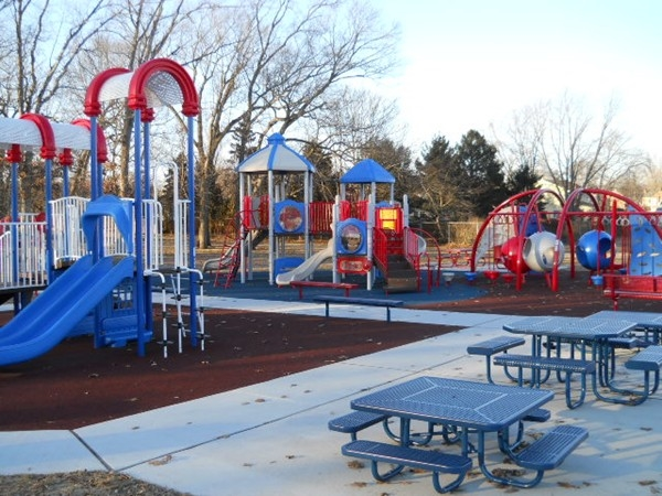 One of Fasola Park's well organized recreational areas