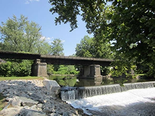 The town of Belvidere is located where the Pequest River meets the majestic Delaware River