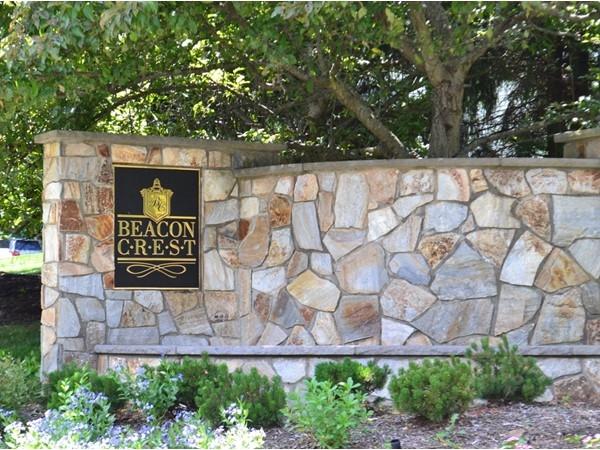Beacon Crest at Basking Ridge, an exclusive neighborhood of 60 estate homes