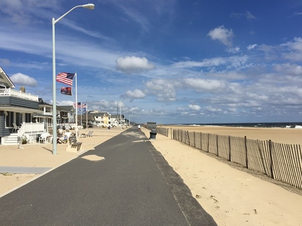 Manasquan Boardwalk and Beach