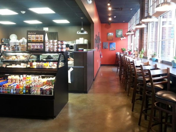 Inside Rockin' Joe's Cafe - Amazing paninis and coffee