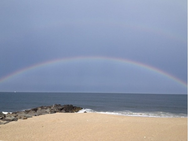 The real pot of gold can be found in the real estate along the beach