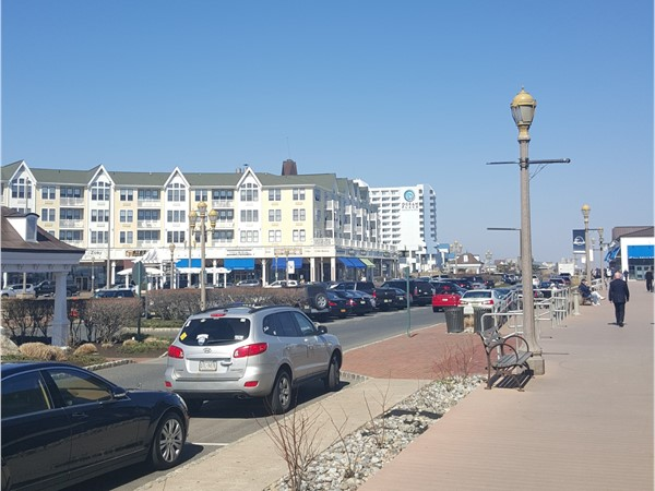 Another beautiful day in Long Branch.  Come walk the boards at Pier Village