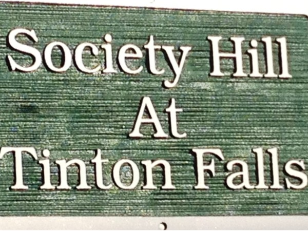 Society Hill entrance sign