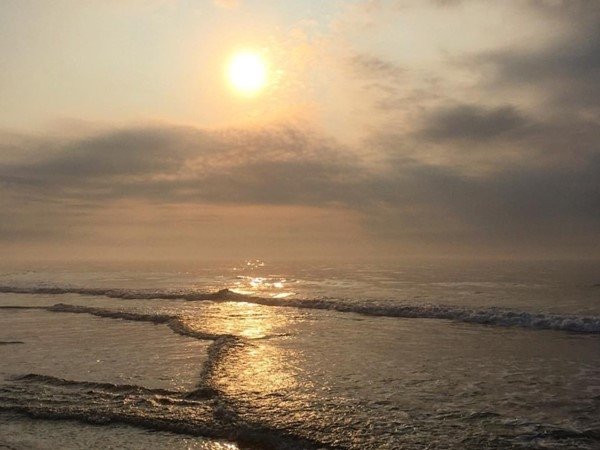 Breathtaking sunrise at North Beach