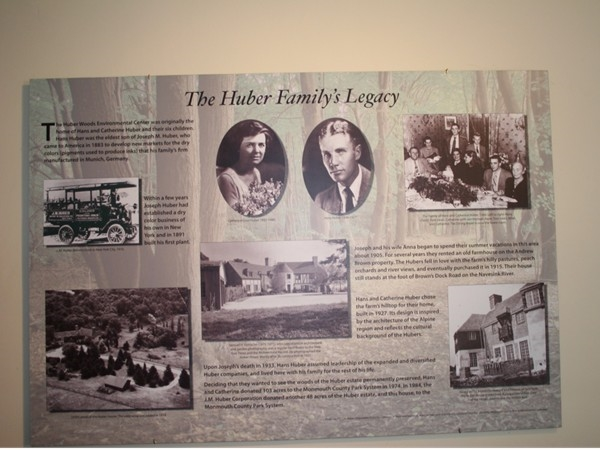 The Huber Family's legacy