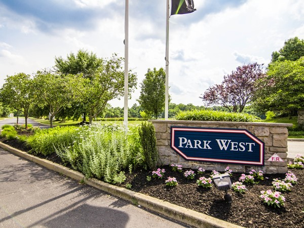 Park West community entrance