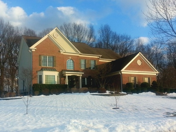 Luxury real estate in Princeton Junction -- Chamberlin Estates built in 2000