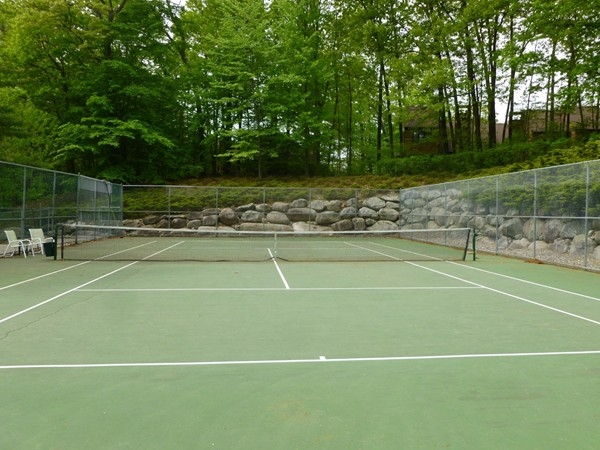 Indian Field tennis courts