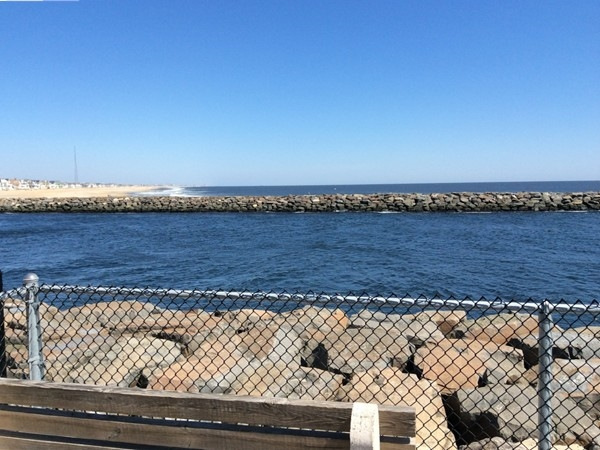 Manasquan Inlet view