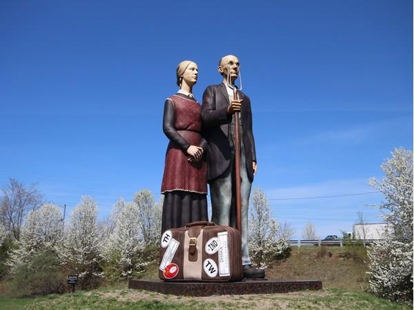 Grounds For Sculpture - Hamilton Train Station, Hamilton