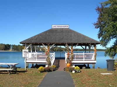 The Gazebo located at Manahawkin Lake Park on Route 9