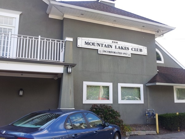 Club House in Mountain Lakes