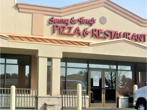 Great Italian food at Sonny & Tony's Pizza & Restaurant