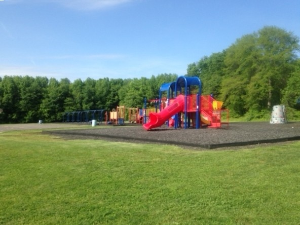 Playground at Milford Brook Elementary School