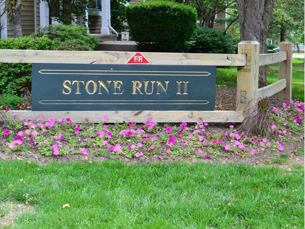The Stone Run II is a gorgeous 130 unit townhome community located on Hills Drive