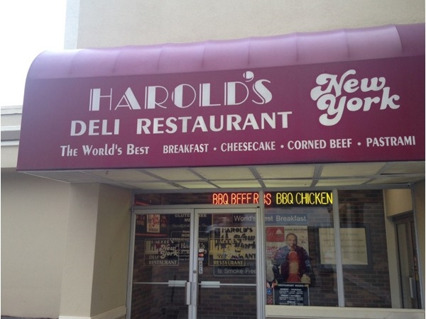 The famous New York Deli