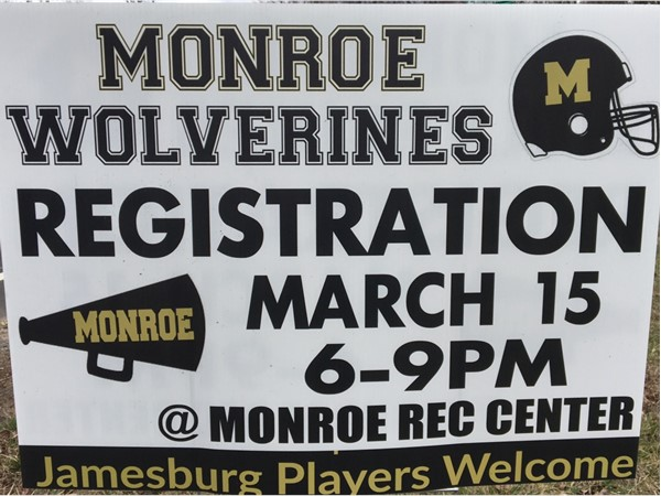It's that time of year again! Register your kids for the Wolverines