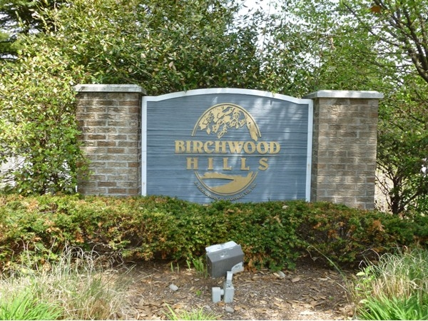 Birchwood Hills entrance