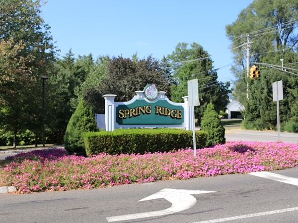 Entrance to Spring Ridge from King George Boulevard
