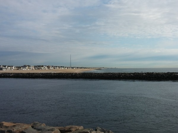 Manasquan shoreline from the inlet