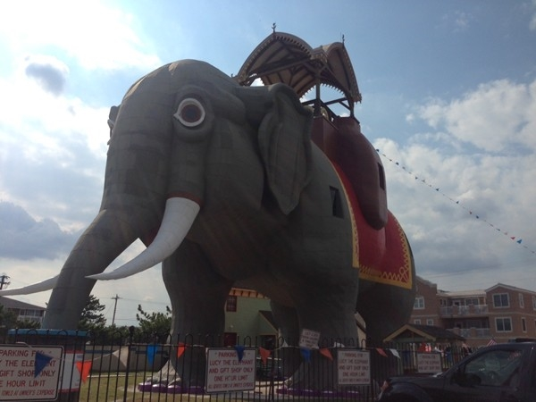 The Famous Lucy the Elephant in Margate City,